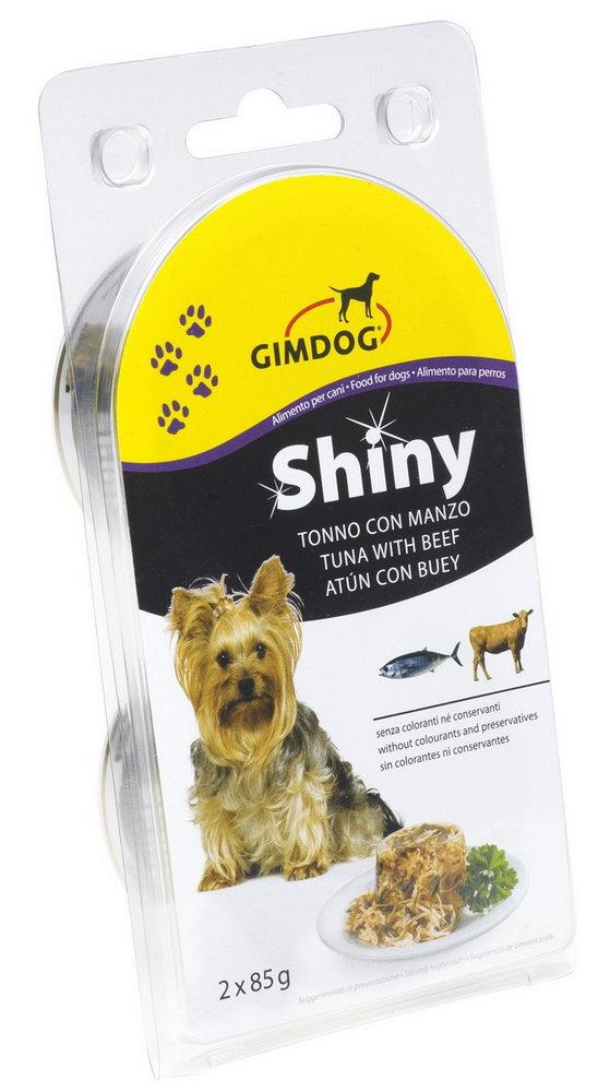Konz.SHINY DOG tunak+hovezi 2x85g