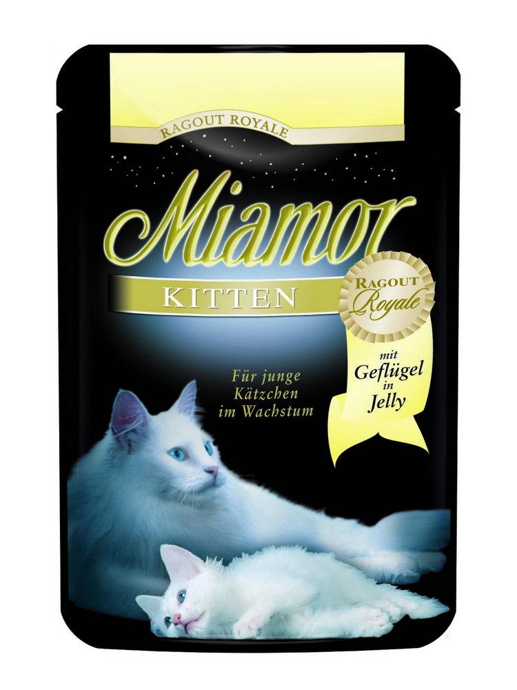 Kap.MIAMOR Ragout Royale Kitten drubezi v zele 100g