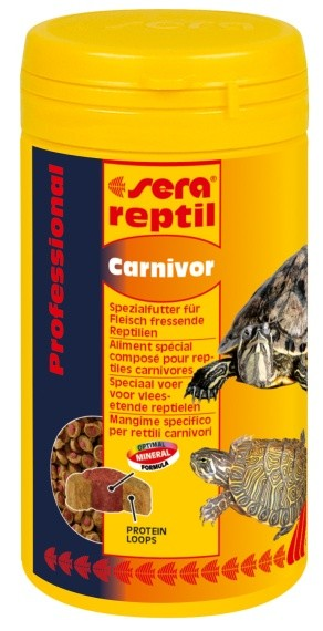 Sera - Reptil Prof.Carnivor 250ml