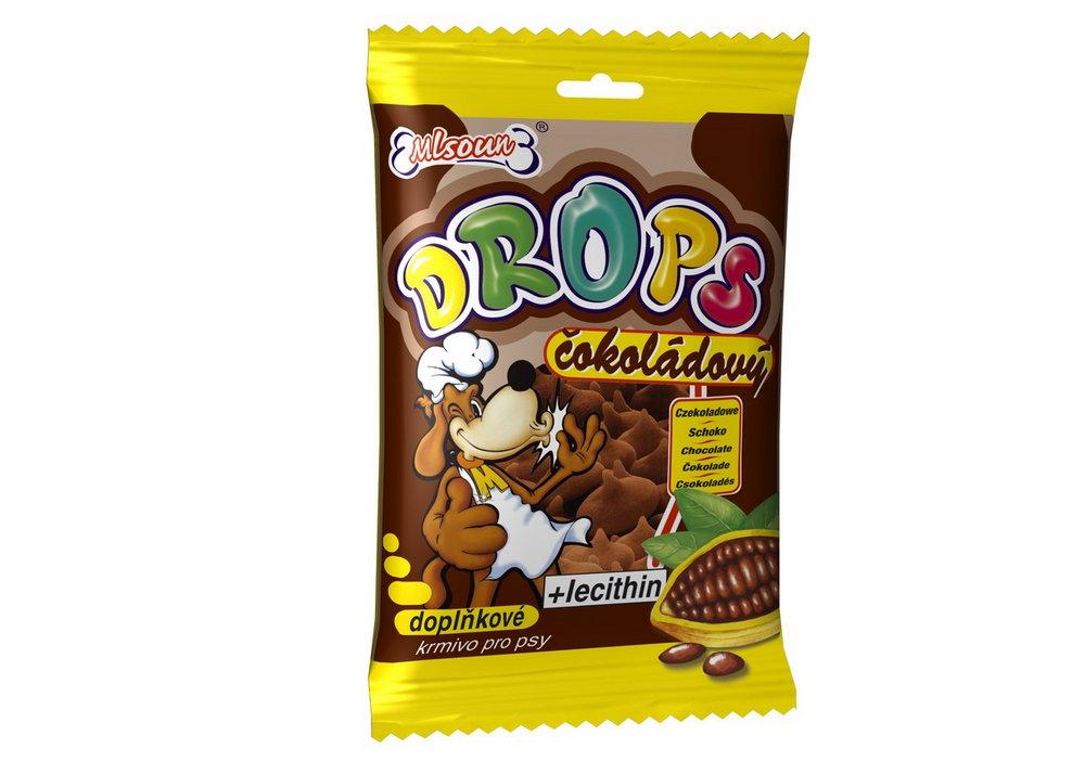 MLS P drops cokoladovy 75g