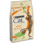 CAT CHOW Adult s kuretem a krutou 1,5kg