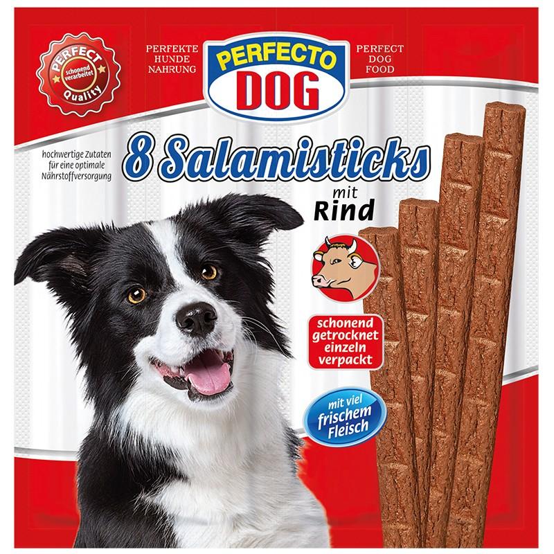 Perfecto Dog 8x salamek s hovezim