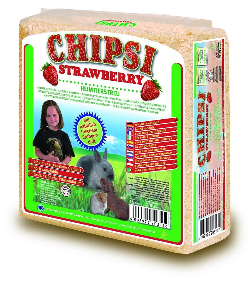 Podest.hoblin. CHIPSI Strawberry 15L/1kg