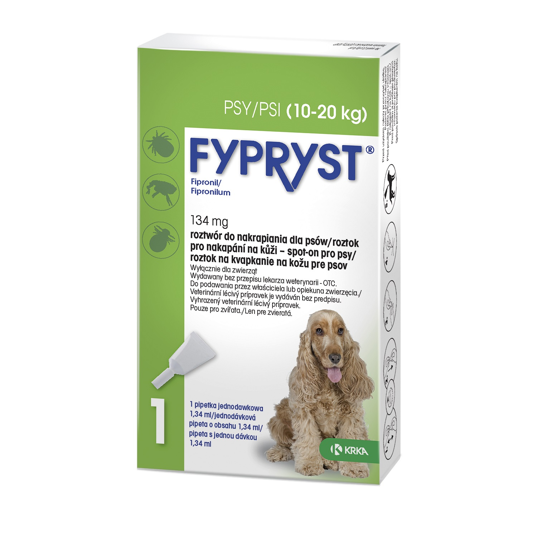 Fypryst antip.spot on a.u.v. M (pes 10-20kg) PRODEJNA