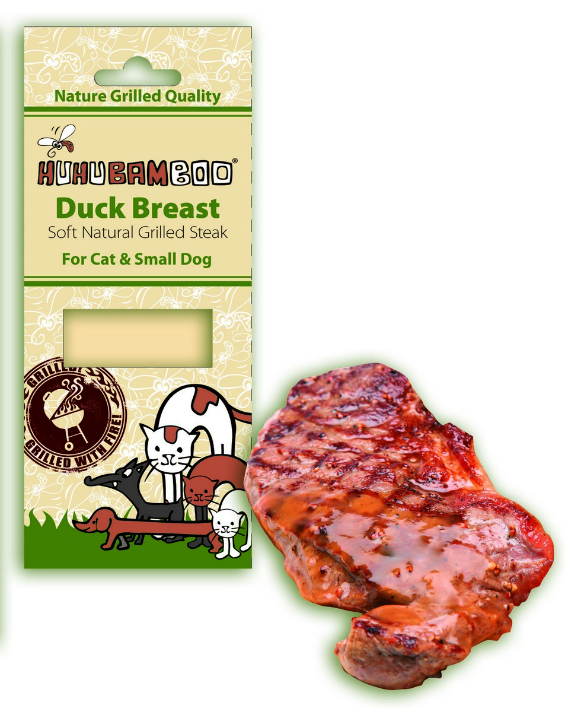 HUHU GRILL steak kachni 30g PRODEJNA