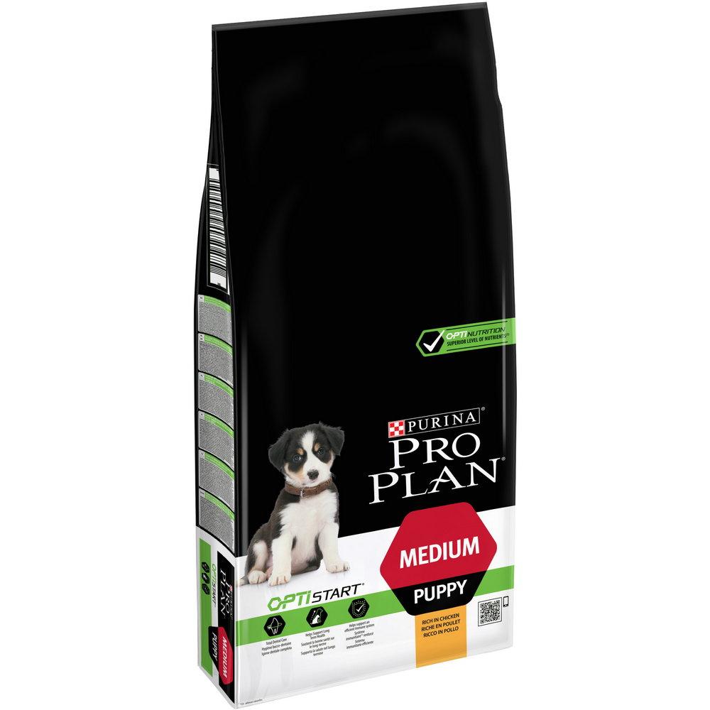 Pur.PP Dog OptiStart Med.Puppy 12kg