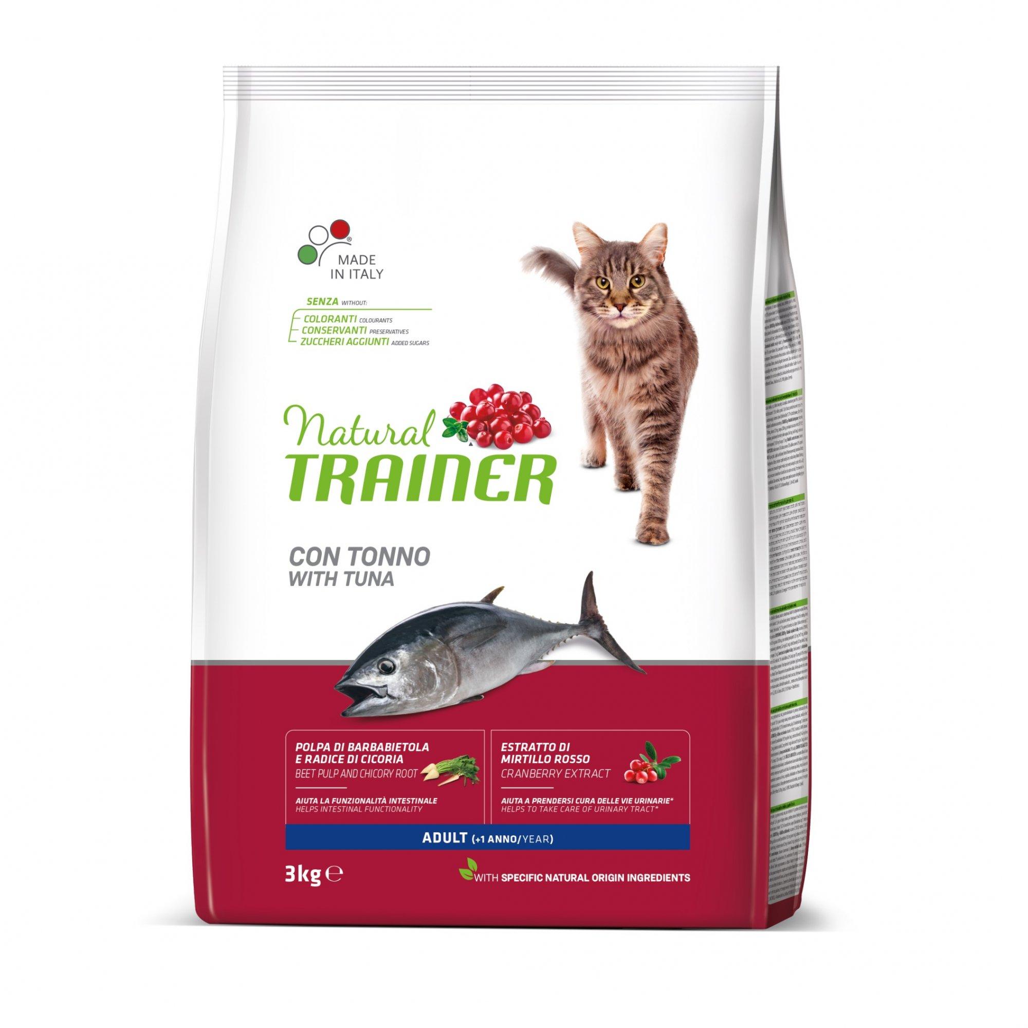 TRAINER Natural Cat Adult tunak 3kg
