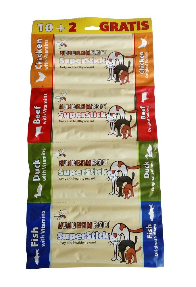 HUHU Superstick Cat 10+2ks prodejna