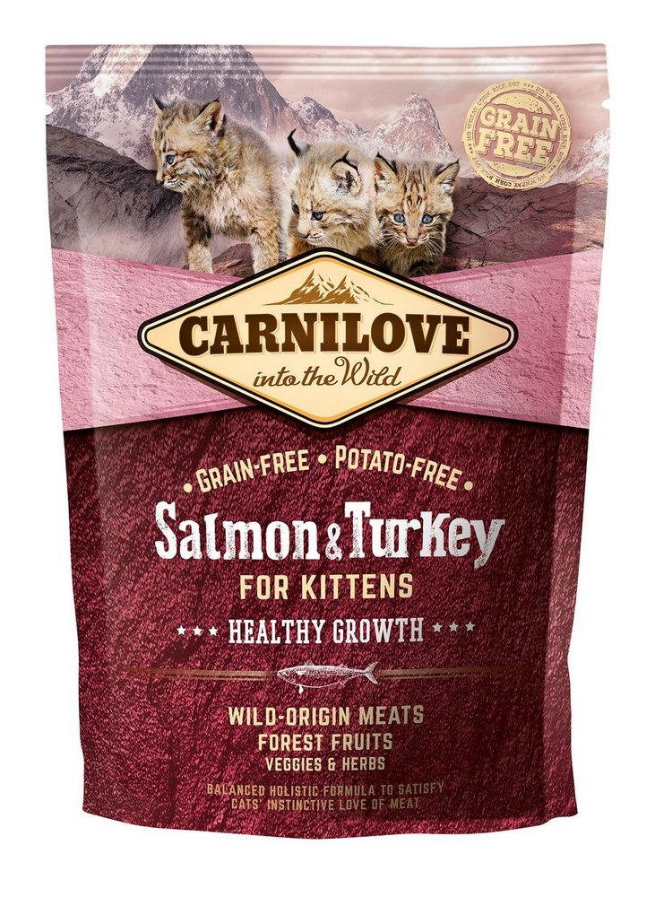 Carnilove Cat Grain Free Salmon&Turkey Kittens Healthy Growth 400g prodejna