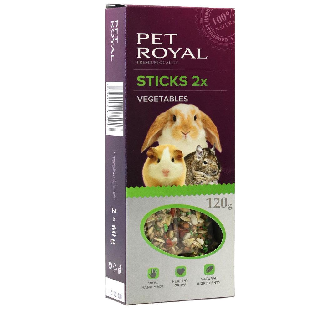 Pet Royal stick Hlodavec zelenina 2ks