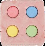 FLAM kalciova kostka barevna pro hlod. 120g