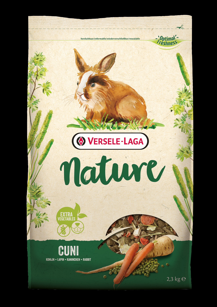 VERS.LAGA Nature Cuni pro králíky 2,3kg