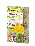 GIMBI Snack Plus bylinky MARIG banan 50g