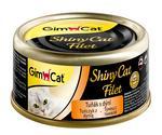 Konz.SHINY CAT filet tunak s dyni 70g