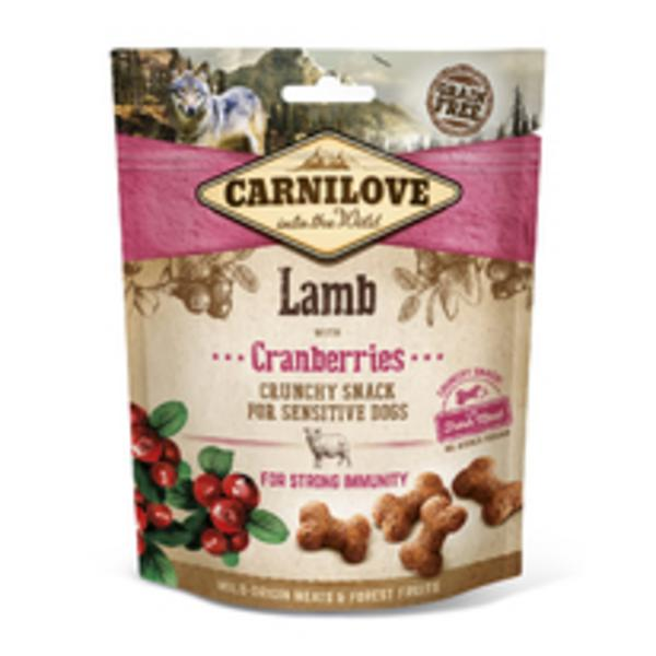 Carnilove Dog Crunchy Snack Lamb,Cranberries,meat 200g