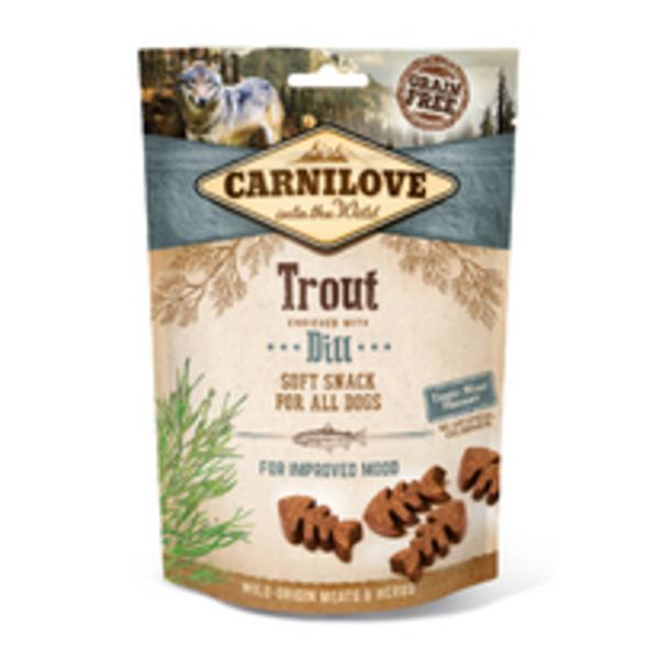 Carnilove Dog Semi Moist Snack Trout with Dill 200g