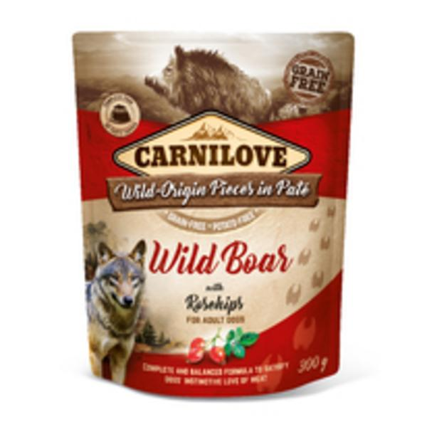 Kap.Carnilove Cat Pouch Wild Boar with Chamomile 85g