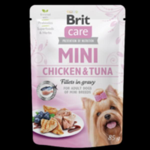 Kap.Brit Care Mini Chicken&Tuna fillets in gravy 85g