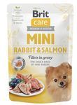Kap.Brit Care Mini Rabbit&Salmon fillets in gravy 85g