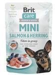 Kap.Brit Care Mini Salmon&Herring sterilised fillets in gravy 85g