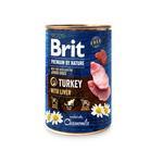 Konz.Brit Premium by Nature Turkey with Liver 400g