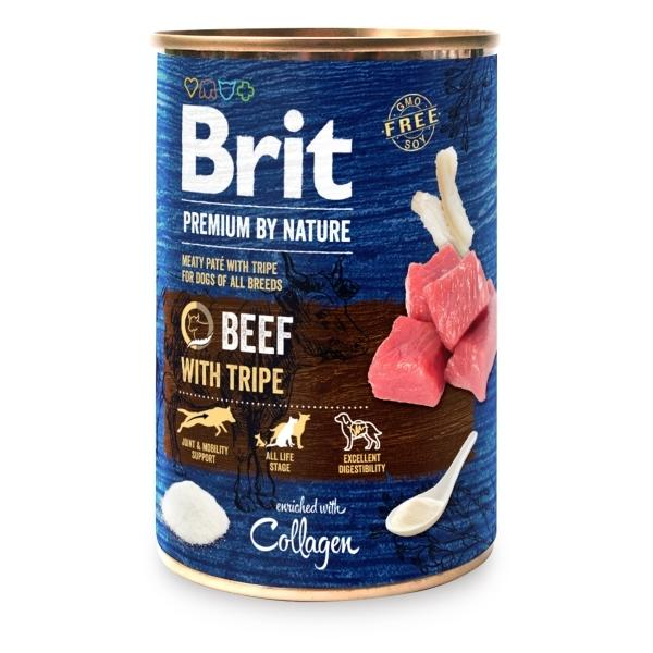 Konz.Brit Premium by Nature Beef with Tripes 400g