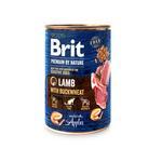 Konz.Brit Premium by Nature Lamb with Buckwheat 400g