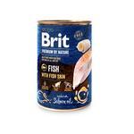 Konz.Brit Premium by Nature Fish with Fish Skin 400g
