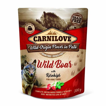 Kap.Carnilove Dog Paté Wild Boar with Rosehips 300g