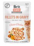 Kap.Brit Care Cat Fillets in Gravy Chicken 85g