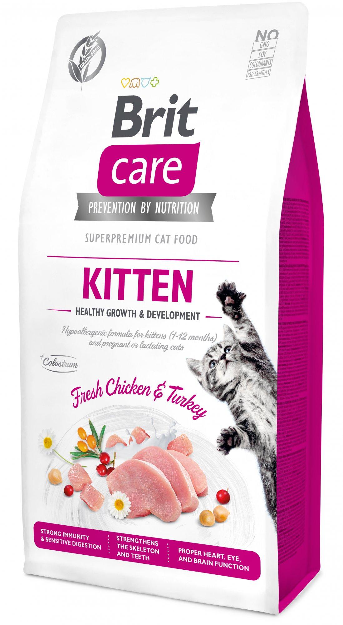 Brit Care Cat Grain-Free Kitten 7kg