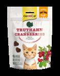 Gimcat Crunchy Snacks Krocan s brusinami 50g